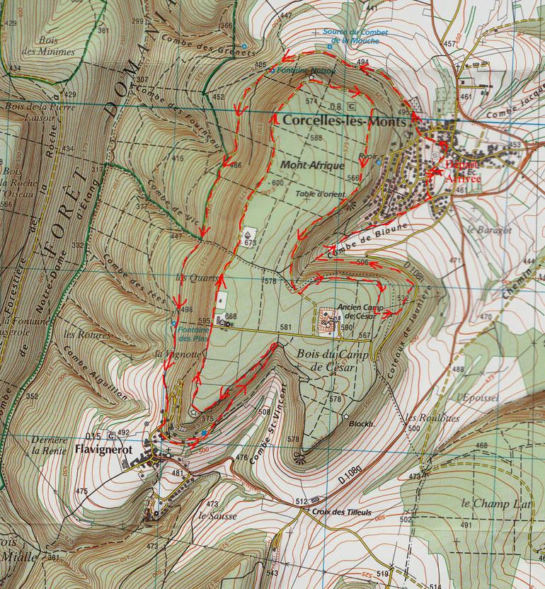 carte 12km